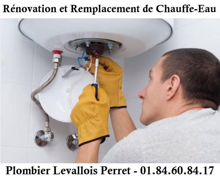 Plombier Levallois-Perret pour remplacement chauffe-eau