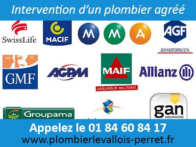 Intervention Plombier Levallois-Perret agréé