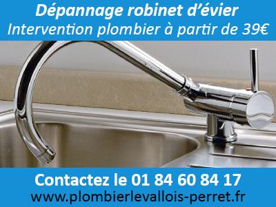 réparation robinetterie Levallois Perret