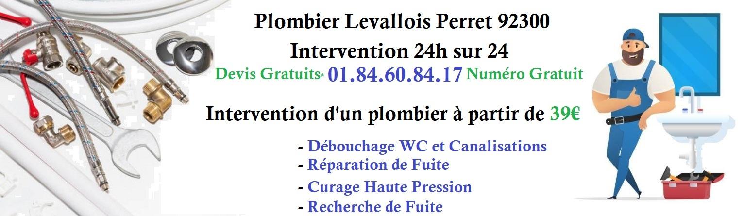 Plombier Levallois Perret