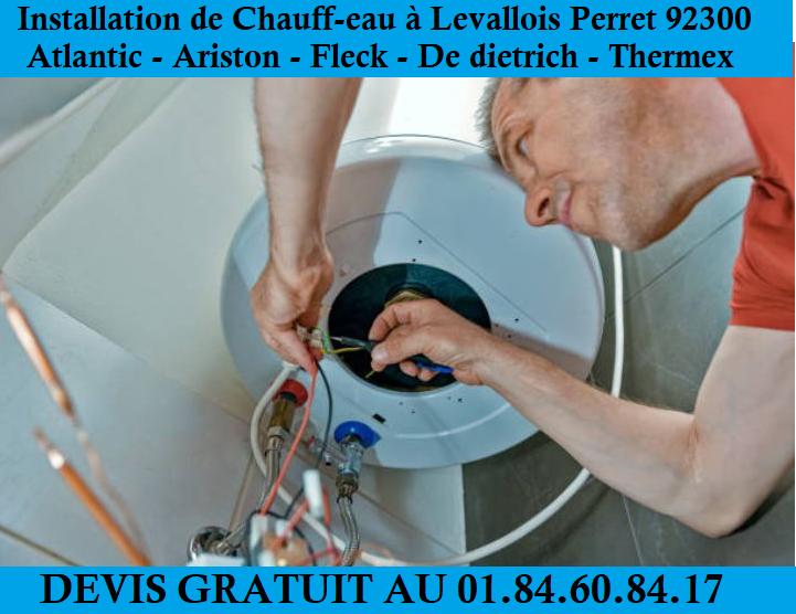 Réparation chauffe eau levallois